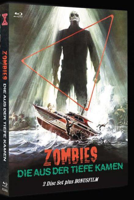 Shock Waves - Zombies die aus der Tiefe kommen - Mediabook - Cover C [Blu-ray+DVD]