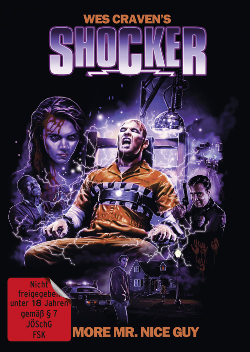 Shocker - Limited Mediabook - Cover A [Blu-ray+DVD]