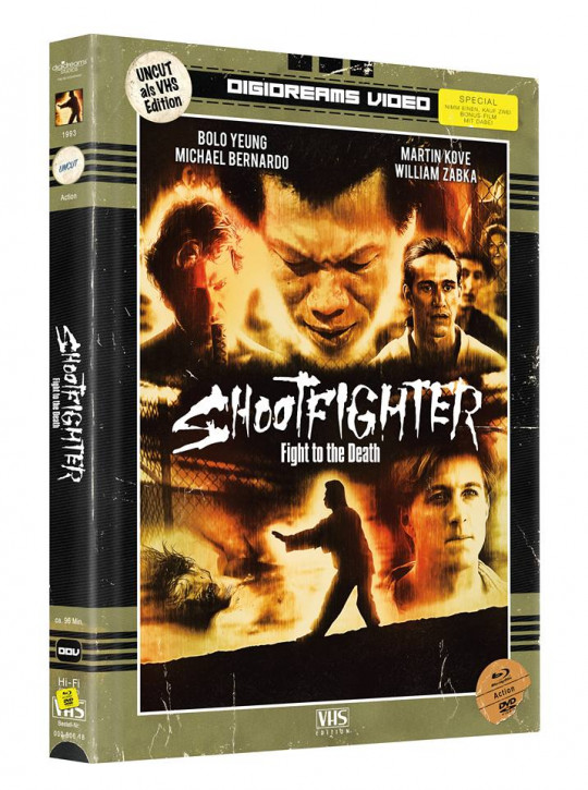 Shootfighter 1 - Limited Mediabook VHS Edition [Blu-ray+DVD]