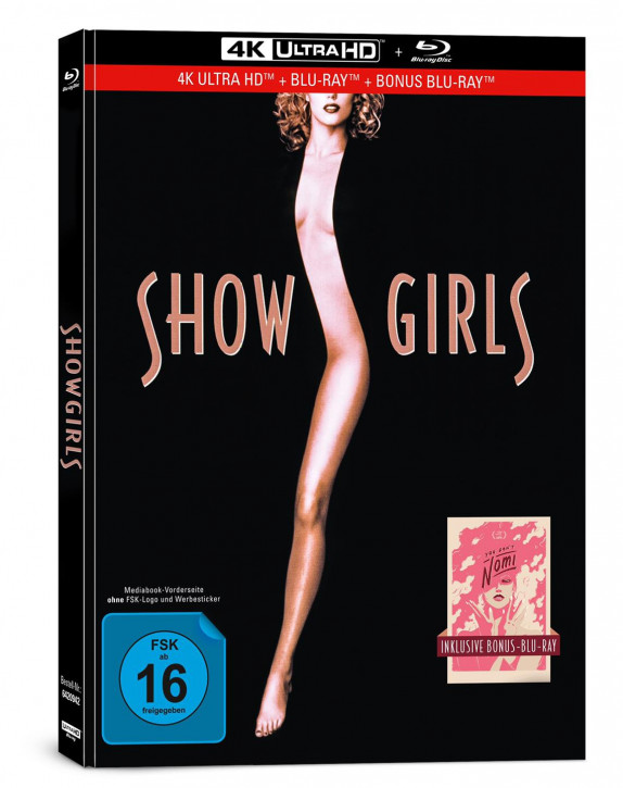 Showgirls - Limited Mediabook Edition [4K UHD+Blu-ray]