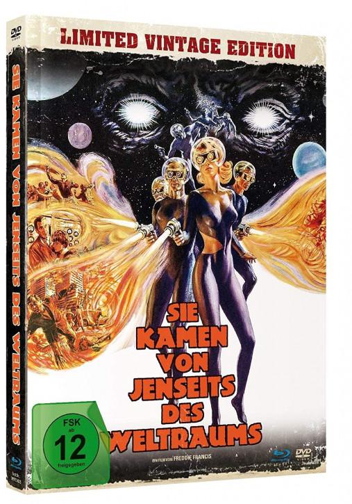 Sie kamen von jenseits des Weltraums - Limited Mediabook Edition [Blu-ray+DVD]