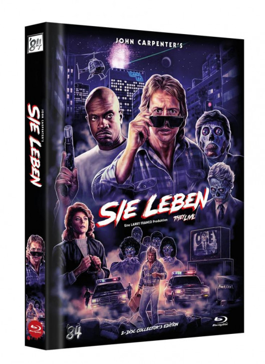 Sie Leben - Limited Collector's Edition - Cover D [Blu-ray]