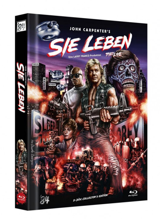 Sie Leben - Limited Collector's Edition - Cover E [Blu-ray]