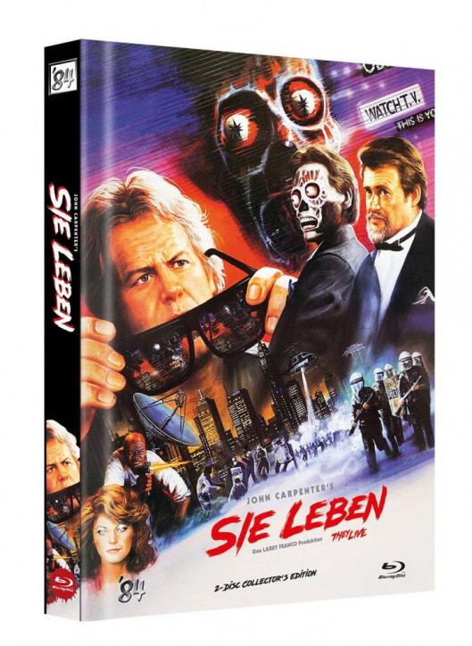 Sie Leben - Limited Collector's Edition - Cover F [Blu-ray]