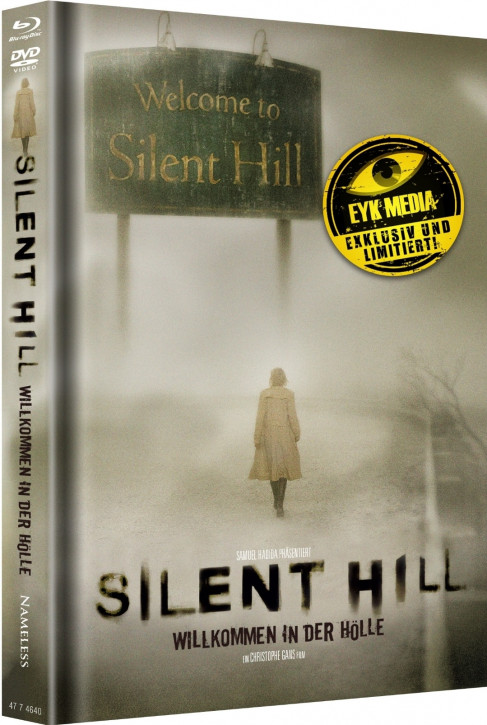 Silent Hill - Limited Mediabook - Cover A [Blu-ray+DVD]