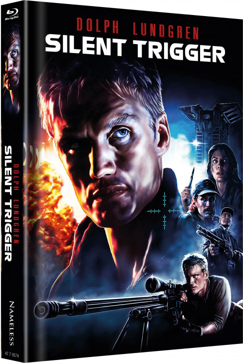 Silent Trigger - Limited Mediabook Edition [Blu-ray]