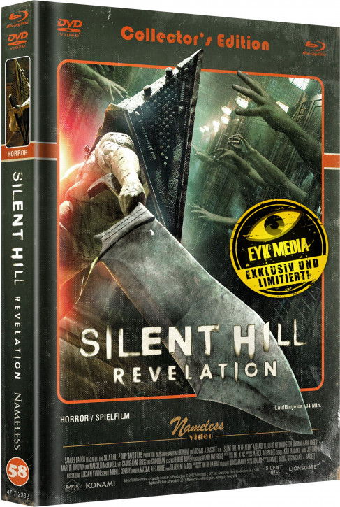 Silent Hill Revelation - Limited Mediabook - Cover C [Blu-ray+DVD]