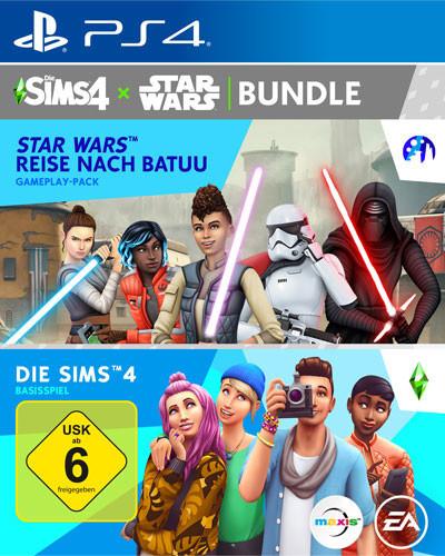 Sims 4 + Star Wars Reise nach Batuu Bundle [PS4]