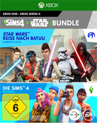 Sims 4 + Star Wars Reise nach Batuu Bundle [Xbox One]