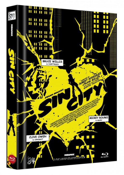 Sin City - Limited Collector's Edition - Cover D [Blu-ray]