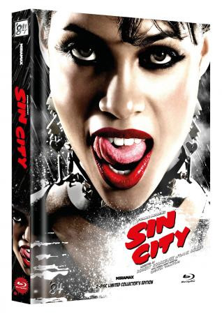 Sin City - Limited Collector's Edition - Cover E [Blu-ray]