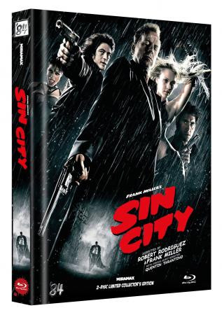 Sin City - Limited Collector's Edition - Cover G [Blu-ray]