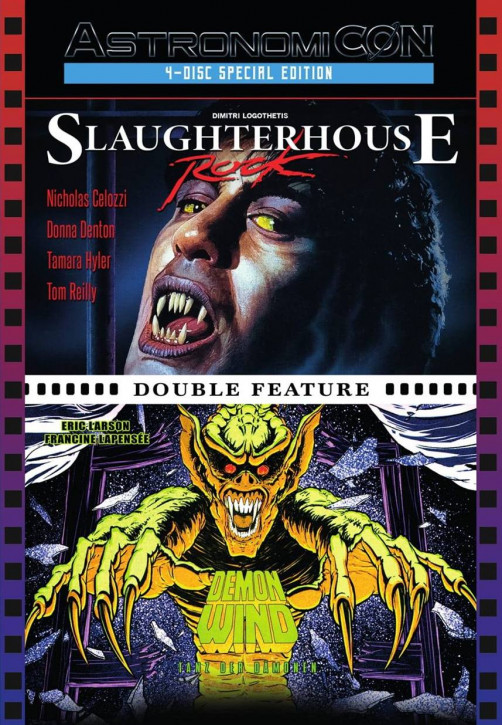 Tanz der Dämonen / Slaughterhouse Rock - Limited Mediabook - [Blu-ray+DVD]