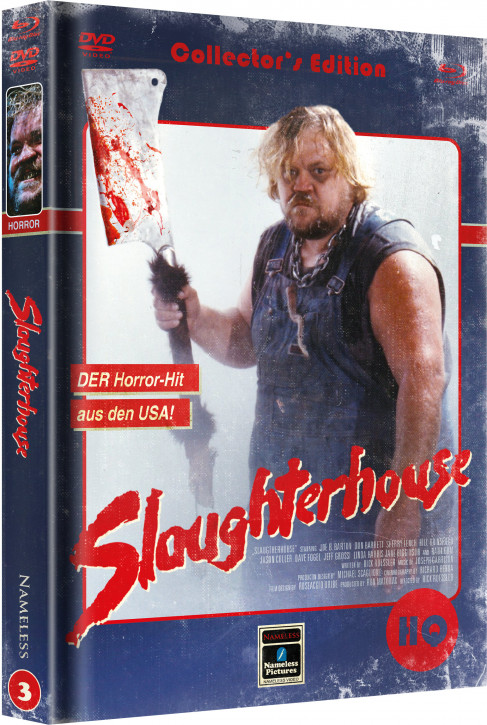 Slaughterhouse - Limited Mediabook Edition - Cover C [Blu-ray+DVD]