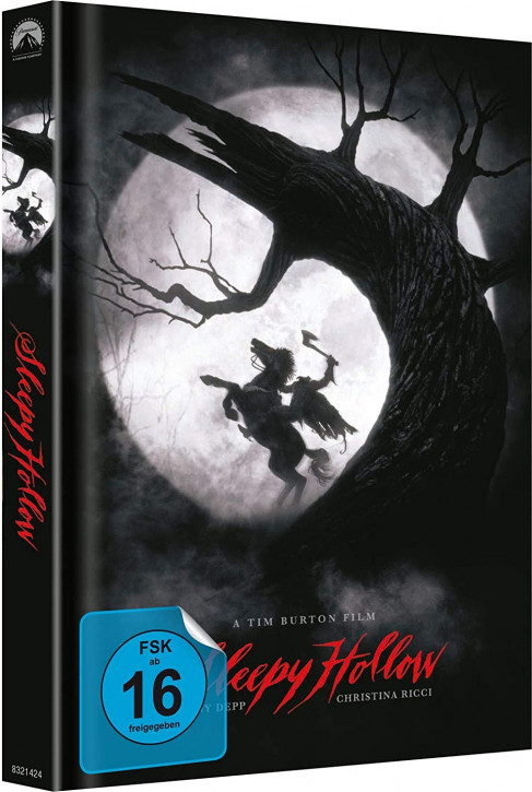Sleepy Hollow - Limited Mediabook Edition - Cover C [Blu-ray+DVD]