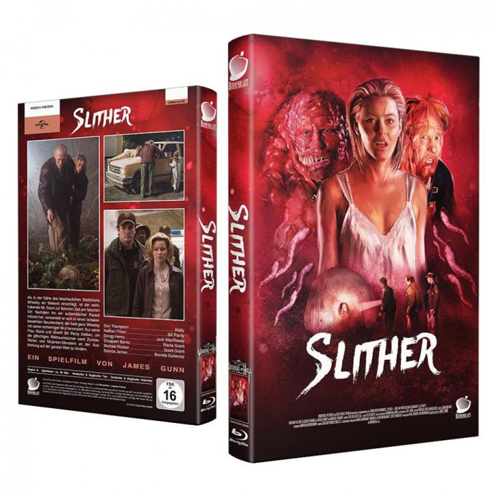 Slither - WOH Edition - Große Hartbox [Blu-ray]