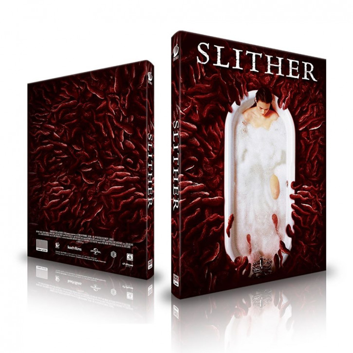 Slither - Mediabook - Cover B [Blu-ray]