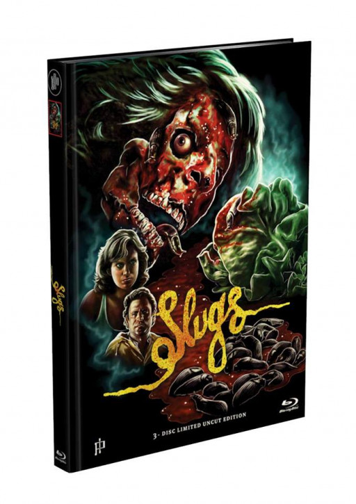 Slugs - Mediabook - Cover D [Blu-ray+DVD]
