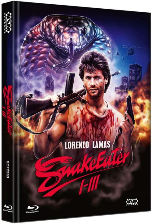 Snake Eater - Trilogy - Mediabook - Cover B [Blu-ray]