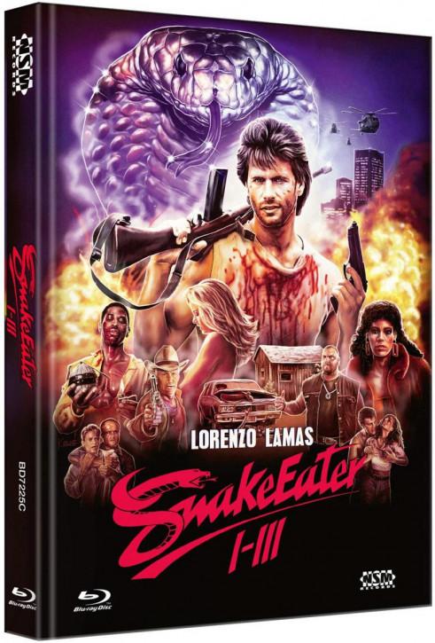 Snake Eater - Trilogy - Mediabook - Cover C [Blu-ray]