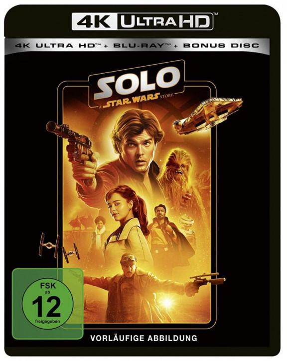 Solo: A Star Wars Story [4K Ultra HD+Blu-ray]
