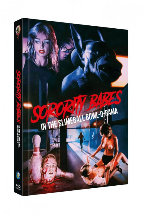Sorority Babes in the Slimeball Bowl-O-Rama - Limited Collectors Edition Cover B [Blu-ray+DVD]