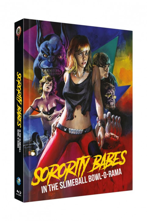 Sorority Babes in the Slimeball Bowl-O-Rama - Limited Collectors Edition Cover C [Blu-ray+DVD]