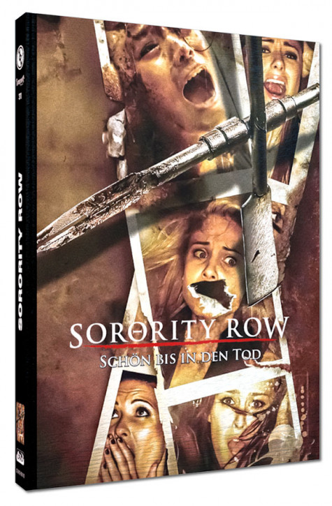 Sorority Row - Schön bis in den Tod - Limited Mediabook Edition - Cover D [Blu-ray+DVD]