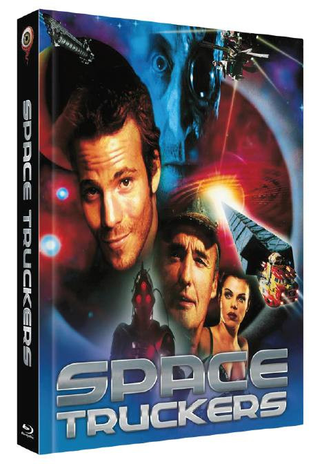 Space Truckers - Limited Collectors Edition Cover A [Blu-ray+DVD]