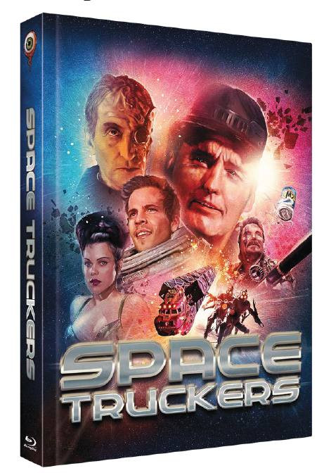 Space Truckers - Limited Collectors Edition Cover B [Blu-ray+DVD]