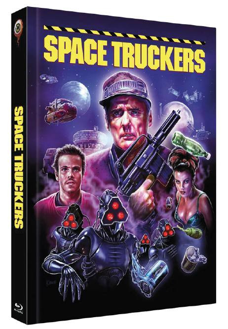 Space Truckers - Limited Collectors Edition Cover C [Blu-ray+DVD]
