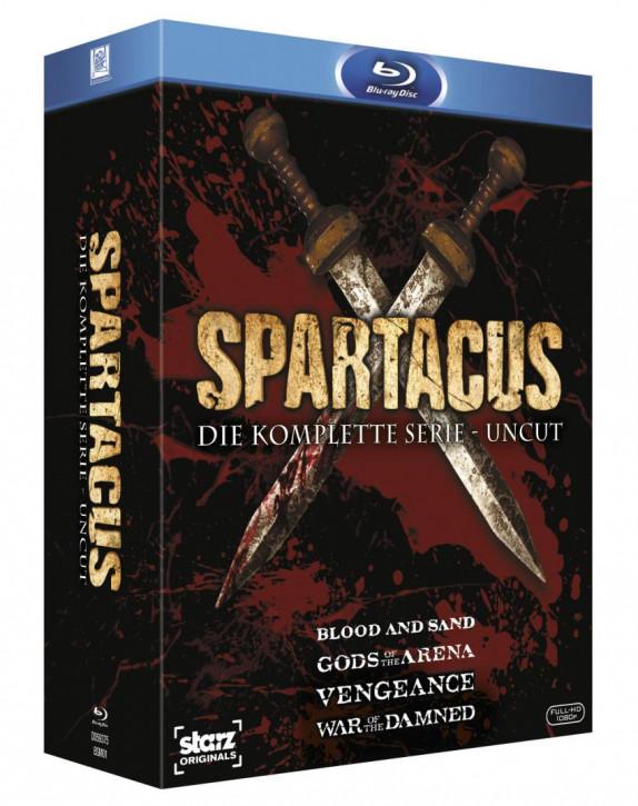 Spartacus - Die komplette Serie (UNCUT) [Blu-ray]