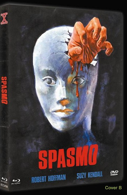 Spasmo - Eurocult Collection #008 - Cover B [Blu-ray+DVD]