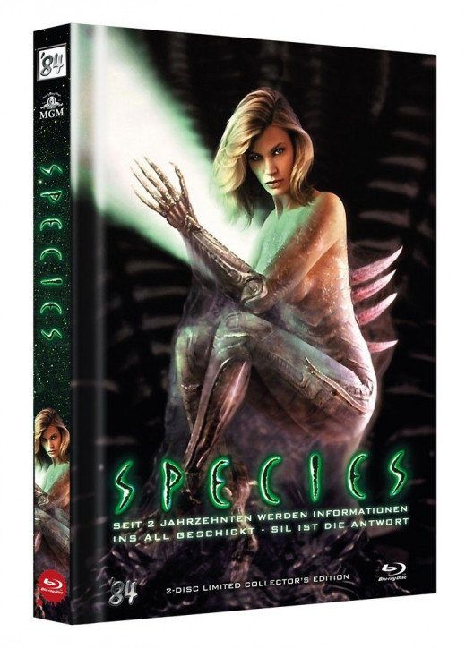 Species - Limited Collectors Edition Mediabook - Cover B [Blu-ray+Bonus DVD]