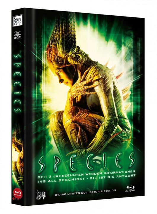Species - Limited Collectors Edition Mediabook - Cover C [Blu-ray+Bonus DVD]