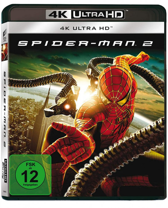 Spider-Man 2 [4K UHD+Blu-ray]
