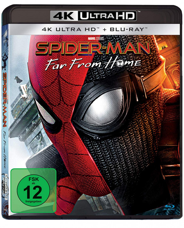 Spider-Man: Far From Home [4K UHD Blu-ray]