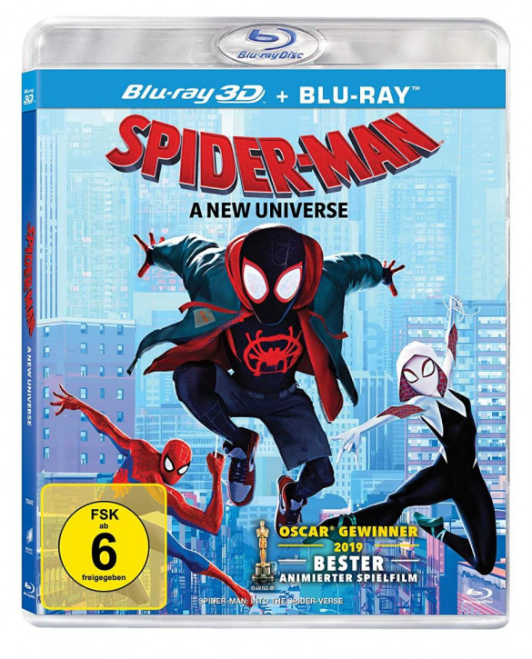 Spider-Man: A new Universe [3D Blu-ray]