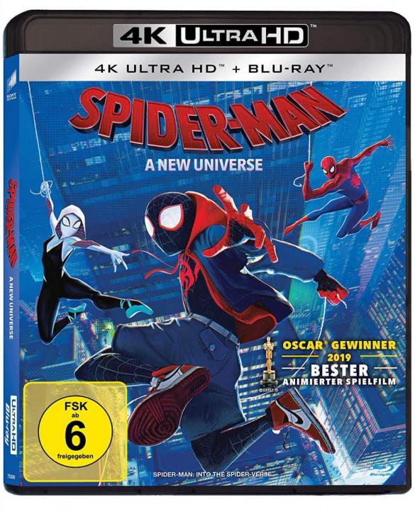 Spider-Man: A new Universe [4K UHD+Blu-ray]