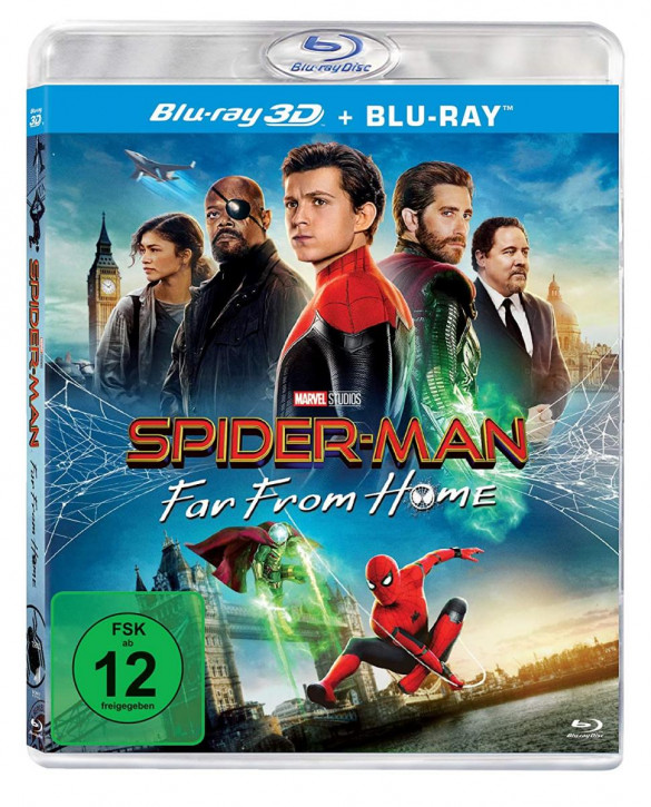 Spider-Man: Far From Home [3D Bluray]