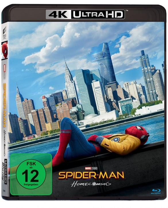 Spider-Man Homecoming [4K UHD Blu-ray]
