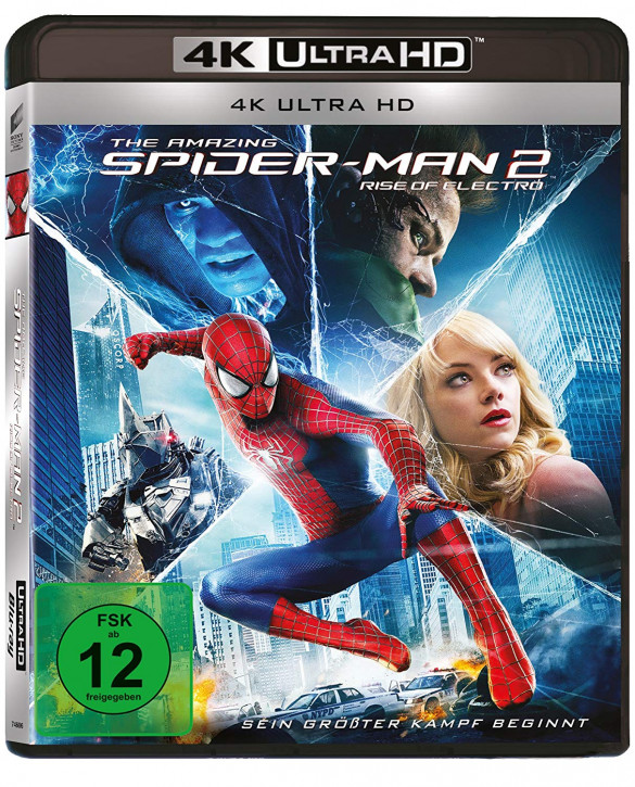 The Amazing Spider-Man 2 - Rise of Electro (4K Ultra HD)