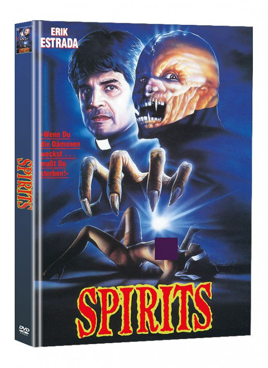 Spirits - Limited Mediabook Edition (Super Spooky Stories #134) [DVD]