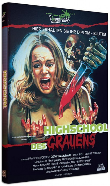 Splatter University - Große Hartbox - Cover A [Blu-ray]