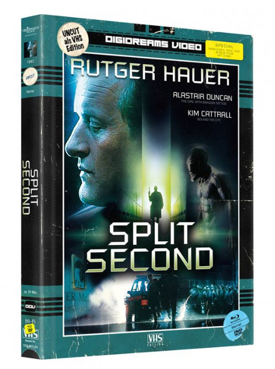 Split Second - Limited Mediabook VHS Edition [Blu-ray+DVD]