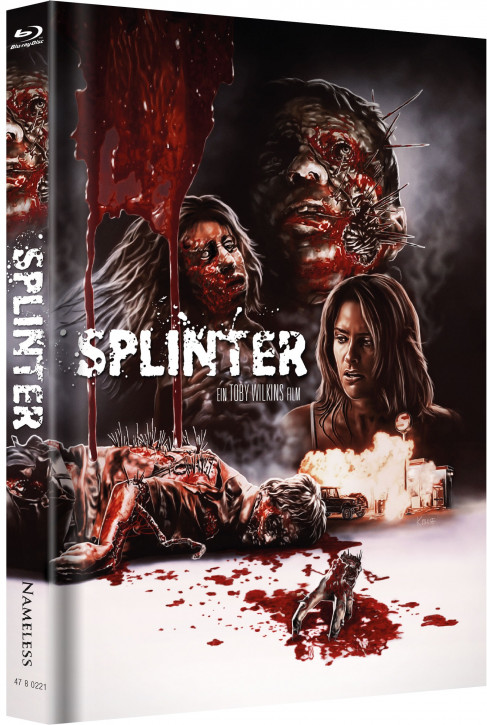 Splinter - Limited Mediabook Edition - Cover B [Blu-ray]