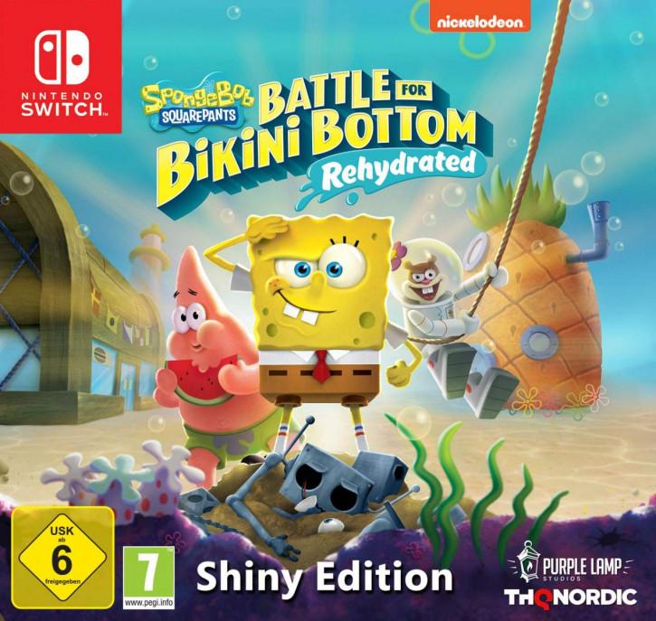 Spongebob SquarePants: Battle for Bikini Bottom - Rehydrated - Shiny Edition [Switch]