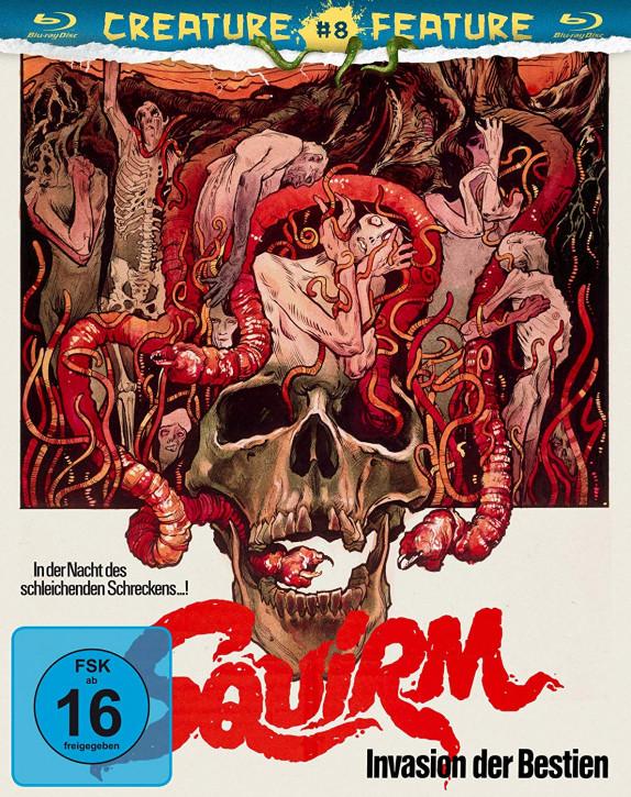 Squirm - Invasion der Bestien - Creature Feature Nr. 8 [Blu-ray]