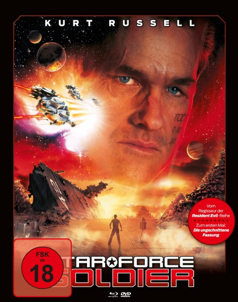 Star Force Soldier  - Limited Mediabook Edition - Cover A [Blu-ray+DVD]