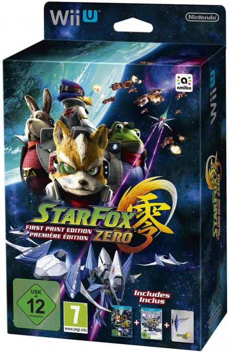 Star Fox Zero - First Print Edition inkl. Star Fox Zero Guard [Wii U]